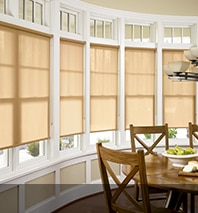 Bow Window Treatments Roller Shades More Blindsgalore