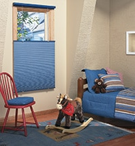 Kid's Bedroom Window Treatment Ideas