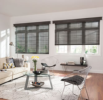 "Bali® Northern Heights Collection: 2"" Wood Blinds"