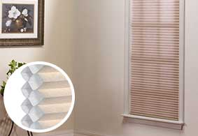 Easy to install light filtering window treatments