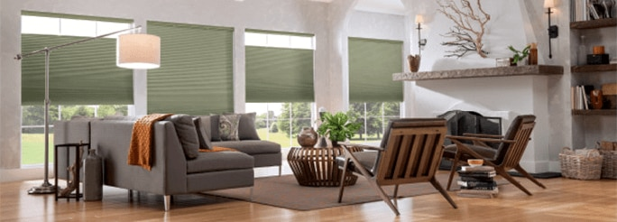 Graber® CrystalPleat® Cellular Shades: Light Filtering