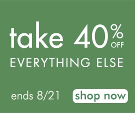 take 40% off everything else