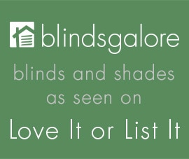 blindsgalore products featured on love it or list it