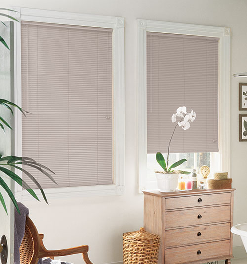 Lightblocker 1 Mini Blind Shown In Desert Sand