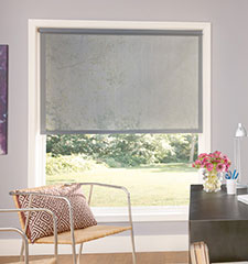 Bali Roller Shades: Light Filtering Solids