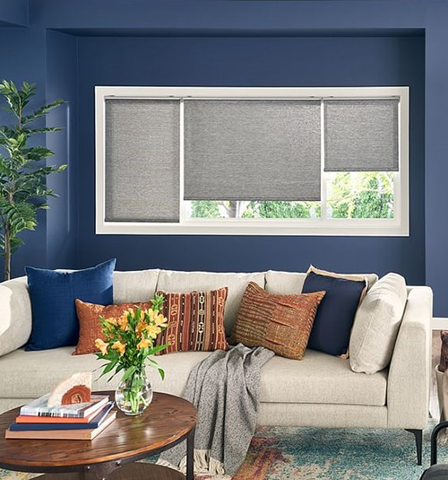 Bali Roller Shades: Light Filtering Textures & Patterns