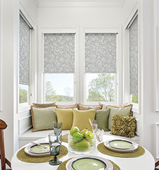 Bali Roller Shades: Blackout