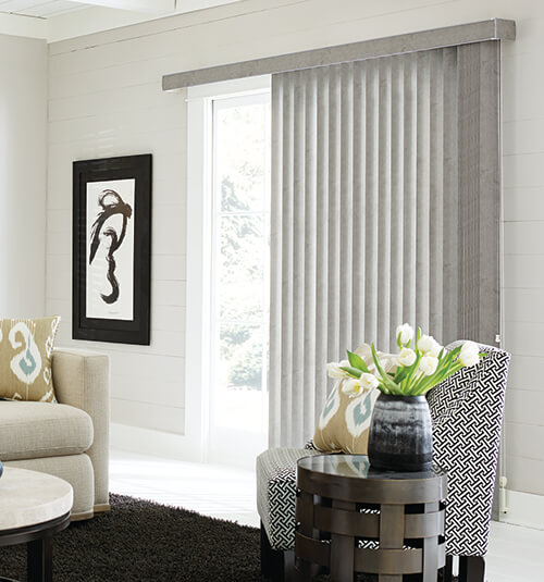 Bali® S-Shape Vertical Blinds: Buckskin Creek