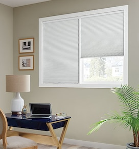 Bali DiamondCell Cellular Shades: Blackout