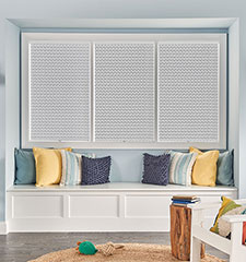 "Bali® Neat Pleat® 1"" Pleated Shades"