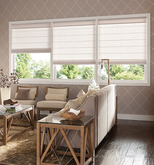 Bali Casual Classics Roman Shades: Patterns & Textures