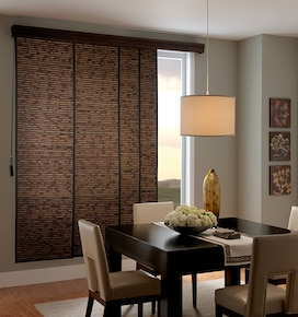 Bali Sliding Panels: Natural Shades