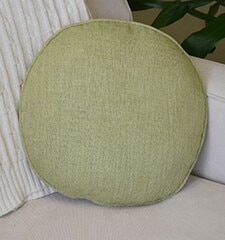Bali Decorative Pillows: Round