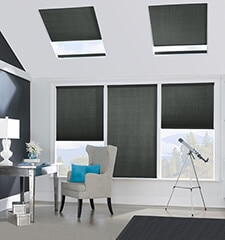 Bali SkyTrack 3/8 Double Cell Midnight Blackout Skylights
