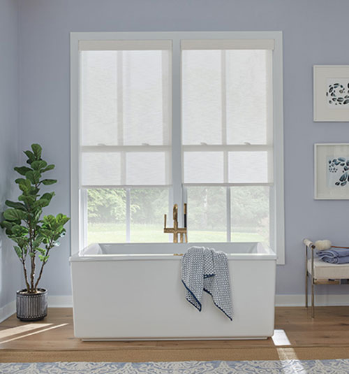 Bali® Roller Shades: Shown Runway Concord