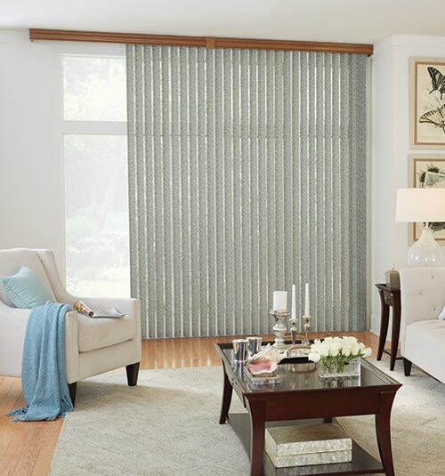 Bali® Fabric Vertical Blind: Monroe Green Tea