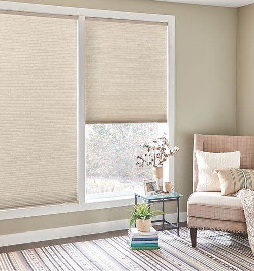 Bali® DiamondCell® Cellular Shades: Cosmopolitan shown in Chipotle