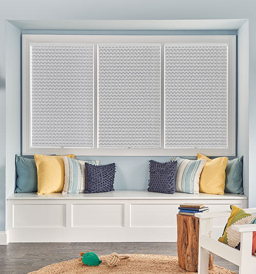 Bali® NeatPleat® Shades shown in Melody: Wishing Well