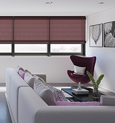 Levolor Roman Shades: Light Filtering Solids