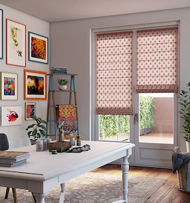 Levolor Roman Shades: Light Filtering Patterns & Textures
