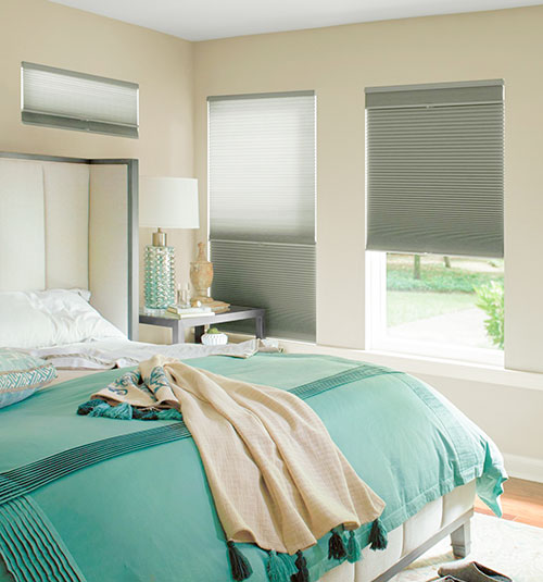 Levolor Accordia Cellular Shade: Transformations 2-in-1 Shade