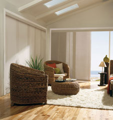 Levolor Panel Track Blinds: Room Darkening