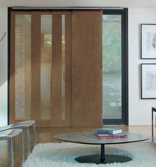 Levolor® Panel Track Blind: Woven Woods: Citiscape Spice