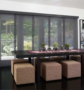 Levolor Panel Track Blinds: Solar Screen