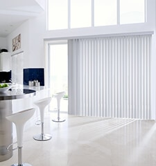 Levolor Vertical Blinds In Embossed Vinyl Amp Fabric Laminate