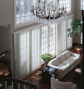 Levolor Fabric Vertical Blinds