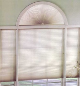 Levolor Perfect Arch Cellular Shade: Light Filtering