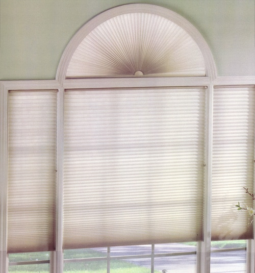 Levolor Perfect Arch Cellular Shade: Room Darkening