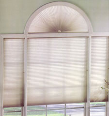 Levolor Accordia Single Cell Designer Colors Room Darkening Perfect Arch Cellular Shade
