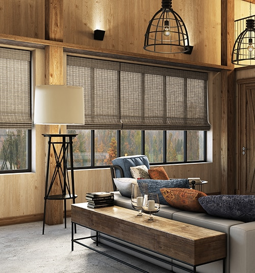 Levolor® Natural Woven Wood Shades: Citiscape Espresso