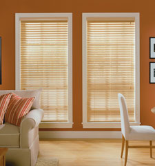 Comfortex Woodwinds Reed 2 Faux Wood Blinds