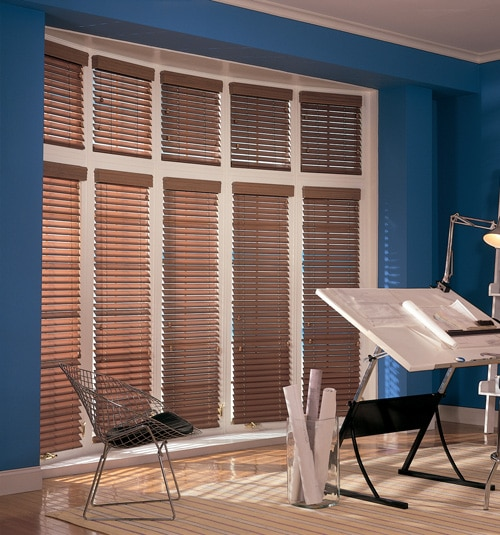Comfortex Woodwinds Faux Wood Blinds 2 SCurve Original