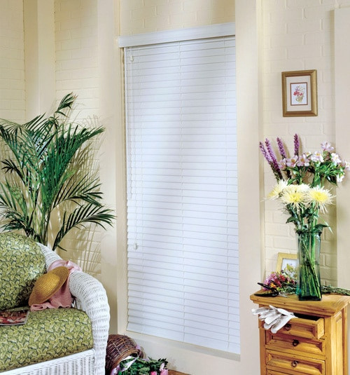 "Comfortex® Woodwinds® Plantation 2 1/2"" ShutterBlinds shown in Oboe"