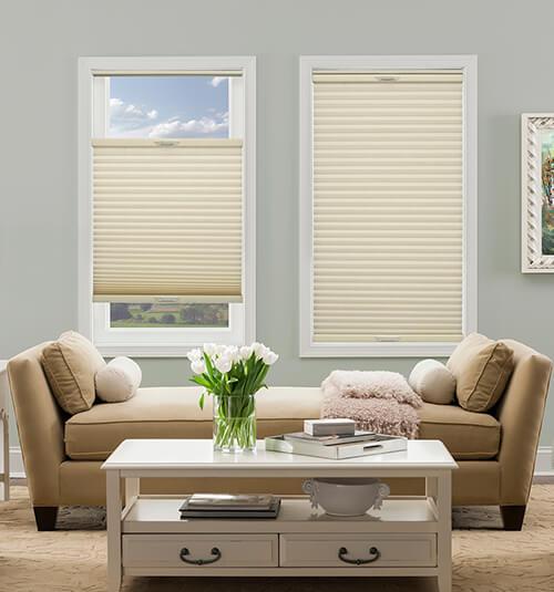 comfortex honeycomb cellular shades light filtering