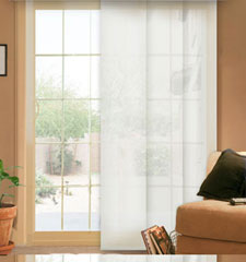 Comfortex Envision Panel Track Blinds: Solar Shade