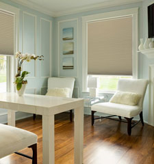 Kellie Clements Simply Chic 3/4 Room Darkening Cellular Shades: Solids