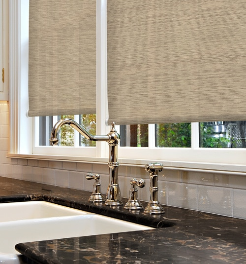 Kellie Clements Simply Chic Roller Shades Textures Blindsgalore