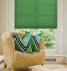 Kellie Clements Simply Chic Roman Shade: Solid Colors