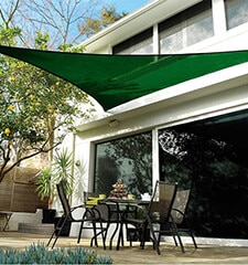 Coolaroo Coolhaven Shade Sail: 12 Foot Triangle