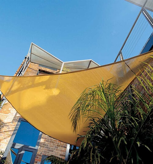 Coolaroo Coolhaven Shade Sail: 15' x 12' x 9' Right Triangle