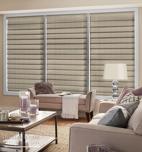 Good Housekeeping Roman Shades: Blackout