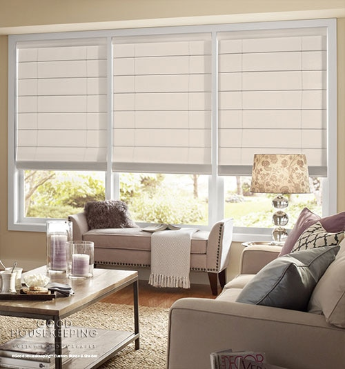 Good Housekeeping Roman Shades: Light Filtering