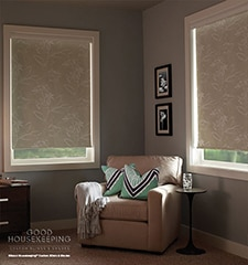 Good Housekeeping Roller Shades: Room Darkening