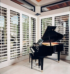 Blindsgalore Signature Privacy Plus 3 1/2 Plantation Wood Shutters