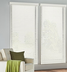 Blindsgalore Faux Wood Blinds: 2 Slats