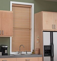 "Blindsgalore® Wood Alternative Blinds: 2"" Smooth Slats"
